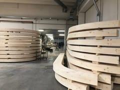 SPECIAL WOOD, Travi curve LAM Travi curve in legno lamellare