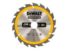 Lama circolare per legnoLAMA CIRCOLARE 190 mm - DEWALT® STANLEY BLACK & DECKER ITALIA
