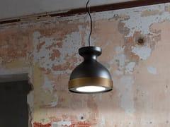 Lampada a sospensione a LED in metallo verniciatoLAMPÒ | Lampada a sospensione - FISIONARTE