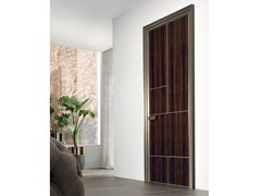 Porta a battente in legno LAND | Porta in legno - Aluminium Chic