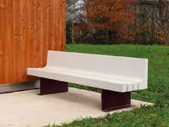 Panchina con schienaleLANGA | Panchina con schienale - ULMA ARCHITECTURAL SOLUTIONS