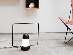 Lampada da tavolo / lampada da terra in metallo LANTERNA C - Lanterna