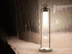 Lampada da tavolo a LED a luce diretta in alluminioLANTERNA N55 - VIABIZZUNO