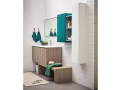 Mobile lavabo laccato LAPIS COMP. 6 - Lapis