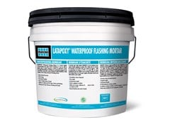 LATICRETE, LATAPOXY® WATERPROOF FLASHING MORTAR Barriera al vapore per copertura
