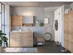 LEGNOBAGNO, LAVANDERIA 1 Mobile lavanderia in legno