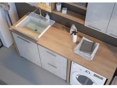 Mobile lavanderia con lavatoioLAVANDERIA 6 - LEGNOBAGNO