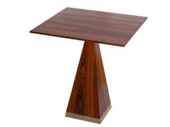 Tavolo quadrato in legno impiallacciatoVictoria - SALMA FURNITURE