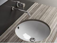 Lavabo da incasso sottopiano rotondo in ceramica LAVABI D'ARREDO | Lavabo da incasso sottopiano - Lavabi d'arredo