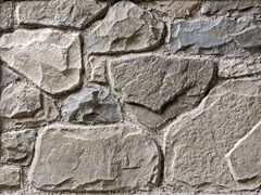 Rivestimento in pietra ricostruitaLAVONE P04 | Bianco Terra - GEOPIETRA