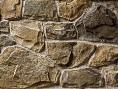 Rivestimento in pietra ricostruitaLAVONE P04 | Marrone Terra - GEOPIETRA