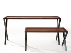 Consolle rettangolare in legno LAX | Consolle in legno - Lax