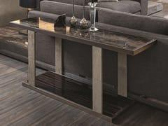 Tavolino alto rettangolare in marmo LAYER | Tavolino alto - Loveluxe