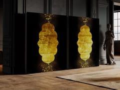 Credenza in legno e vetro con ante a battenteLAYLA™ - TECNOTELAI