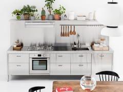 Cucina lineare in acciaio inoxLC 310-1   Cucina - ALPES-INOX