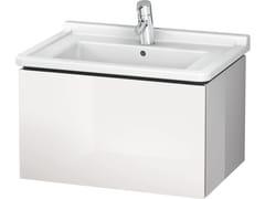 Mobile lavabo sospeso con cassetti LC 6164 | Mobile lavabo - L-Cube