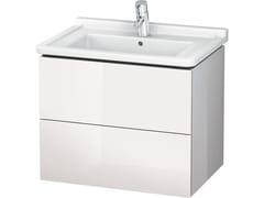 Mobile lavabo sospeso con cassetti LC 6264 | Mobile lavabo con cassetti - L-Cube