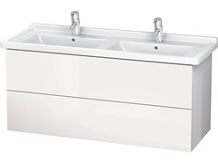 Mobile lavabo doppio con cassetti LC 6267 | Mobile lavabo doppio - L-Cube