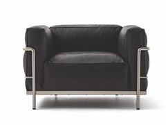 Poltrona con braccioli 003 LC3 FAUTEUIL GRAND CONFORT DURABLE - CASSINA