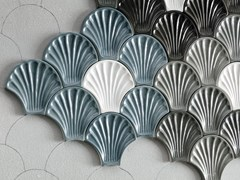 Rivestimento tridimensionale in ceramica per interniLE CONCHIGLIE - TERRATINTA GROUP