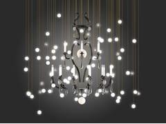 Lampadario a LED in vetro soffiatoLE MERVEILLEUX | Lampadario - BEAU & BIEN