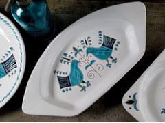 Vassoio in ceramicaLE PAVONCELLE | Vassoio - GRUPPO ROMANI