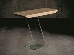 Consolle rettangolare in legno e vetroLEAF | Consolle - ALTA CORTE
