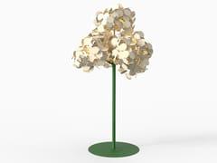 LAMPADA DA TERRA / PANNELLO ACUSTICO A PARETELEAF LAMP METAL TREE - GREEN FURNITURE CONCEPT