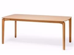 Tavolo rettangolare in legno LEAF | Tavolo rettangolare - Leaf