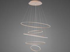 Lampada a sospensione a LED in alluminioLED RINGS NO.5_180 - ALTAVOLA DESIGN