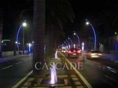 CASCADE, Punti luminosi LED per pali Elemento decorativo a LED per lampione stradale