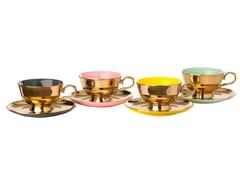 Set di tazze da tè in porcellana con piattinoLEGACY | Set di tazze - POLS POTTEN