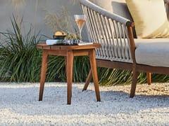 Tavolino basso da giardino in teakLEGNA   Tavolino da caffè - JARDINICO