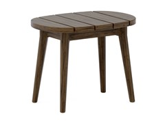 Tavolino basso da giardino in teakLEGNA | Tavolino da caffè - JARDINICO