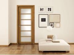 Porta in legno massello e vetro LEGNI & LACCHE - Legni & lacche