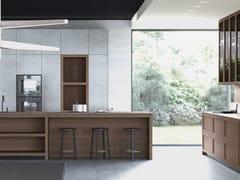 Cucina componibile con isolaLEGNO VIVO 2.6   Cucina con isola - GD ARREDAMENTI