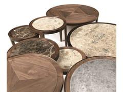 Tavolino rotondo in noceLEONARDO L1040N | Tavolino - ARTE BROTTO MOBILI