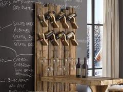 Portabottiglie da parete in legnoLEONE | Portabottiglie - ARVESTYLE