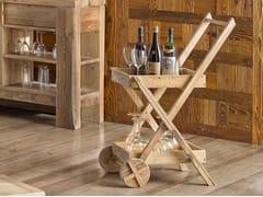 Carrello portavivande in legnoLEONE | Carrello portavivande - ARVESTYLE
