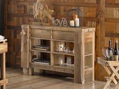 Consolle rettangolare in legno con cassettiLEONE | Consolle - ARVESTYLE