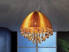 Lampada a sospensione a LED a luce indiretta in metalloLEONELLA - ARREDIORG
