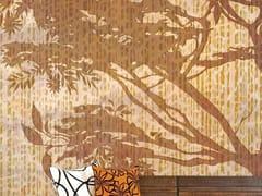 Carta da parati tropicale PVC free, eco, lavabileLEOPARD TREE - WALLPEPPER