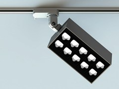 Illuminazione a binario a LED in alluminio estrusoLEVA | Illuminazione a binario - LUCIFERO'S