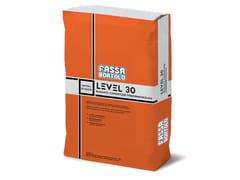 Rasante cementizio tixotropico fibrorinforzatoLEVEL 30 - FASSA