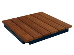 Pavimento per esterni in legnoLEVEL UP WOOD - DAKOTA GROUP