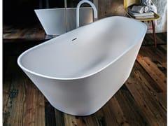 Vasca da bagno centro stanza in Ceramilux®LEVEL45 - FALPER