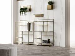 Libreria a giorno in metallo verniciatoLEVIA SMALL - APP DESIGN