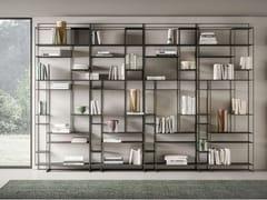 Libreria a giorno in metalloLEVIA TALL - APP DESIGN