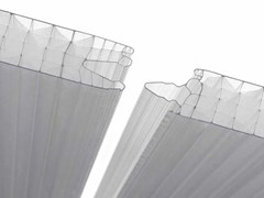 Lastra di rivestimento in policarbonato alveolareLEXAN™ THERMOCLICK™ - SABIC