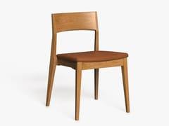 Sedia in legno con cuscino integratoLH-42 | Sedia con cuscino integrato - LUKE HUGHES & COMPANY